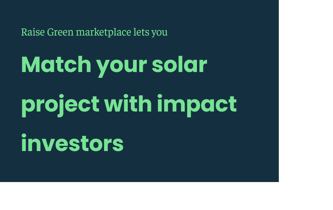 Raise Green Investor